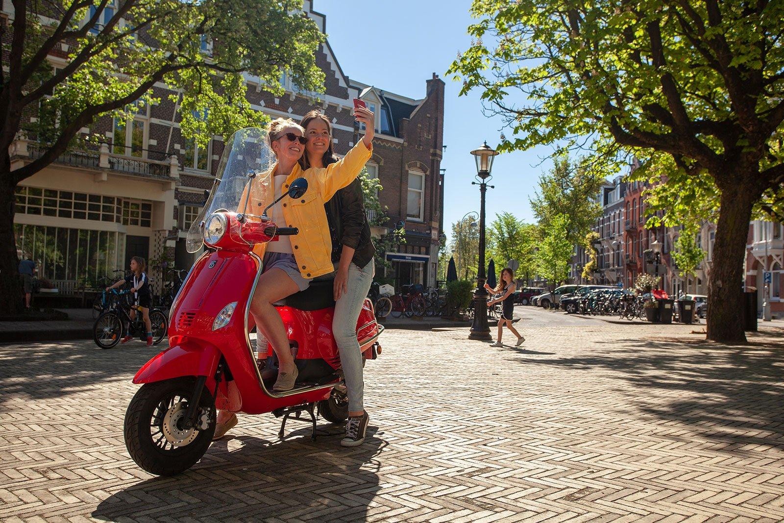Scooterverhuur Amsterdam